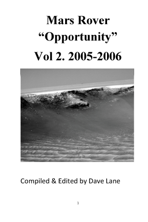 "Mars Rover ""Opportunity"" Vol 2 2005-2006"